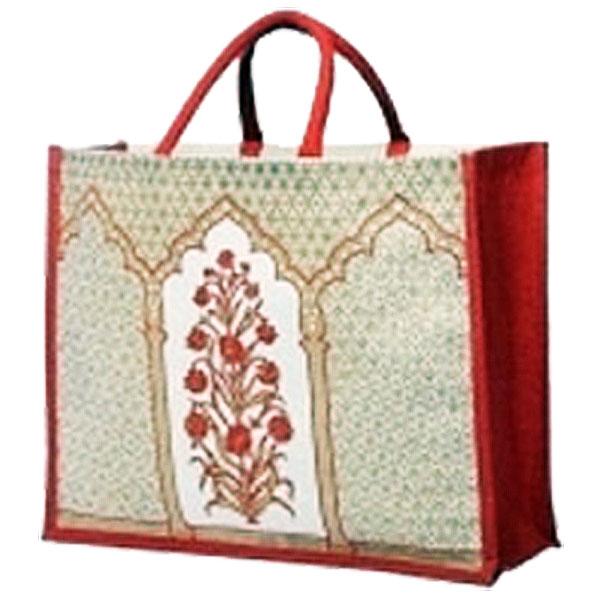Eco-friendly Printed Natural Jute Bag